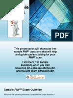 PMP Sample Questions Set 8