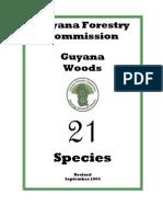21 Species Booklet 2004