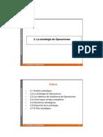 DEstO 11-12 - Tema 2 - La Estrategia de Operaciones
