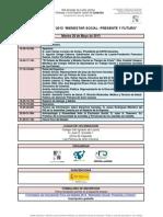 Programa Forodedebate2013BienestarSocialPresenteyfuturo EAPN-Canarias