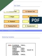 ABAP Data Types