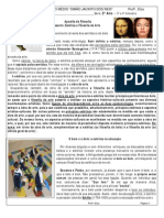 APOSTILA - ESTÉTICA DA ARTE - FILOSOFIA
