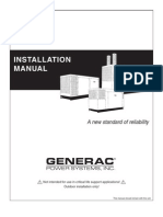 Generac Installation Manual