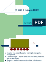How to Drill a Square Hole!