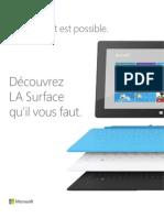 Comparateur Surface RT Et Surface Pro