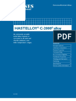 Hastelloy C-2000 Alloy