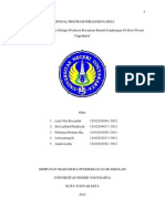 contoh proposal Program Hibah Desa