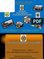 Funcion de Briadieres y Policias Escolares