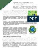 El Día Internacional del Reciclaje y taller