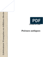 40362 Leconte de Lisle Poemes Antiques