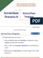 Activos Fixos Tangíveis Contabilidade Financeira III F ( PL )