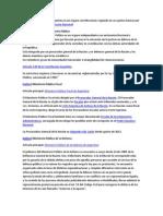 El Ministerio Público de Argentina es un órgano constitucional