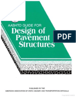 AAHSTO Guide for Design Pavement Structures
