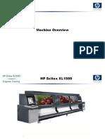 HP Scitex xl 1500 General Safety Machine Overview