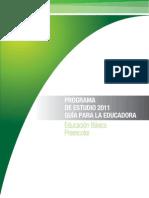 Programa Preesc. 2011- 13 Sept Modificado.