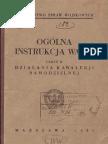 Ogólna instrukcja walki (tymczasowa). Cz. 2, Działania kawalerji samodzielnej - 1933
