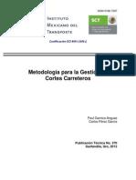Indice General de Estabilidad de Cortes Carreteros