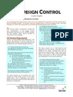Design Control Explained