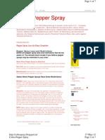 Pepper Spray in India