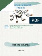 7r Irene Kim - Robotics in Korea
