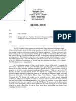 The Kosnar Group FDD Questionnaire