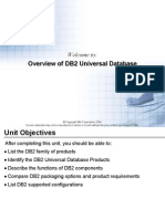 Overview off DB2 Universal Database