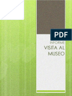 Informe Visita Al Museo