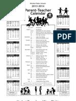 USD 259 School Calendar 2013-2014