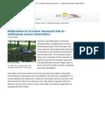 Müllproblem im Dresdner Alaunpark hält an - Unbekannte starten Zettel-Aktion