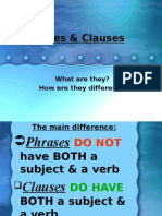 Phrases&Clauses