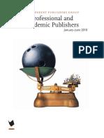 January-June 2010 IPG Professional and Academic Publishers Catalog