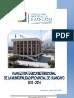 Plan Estratégico Institucional de la Municipalidad Provincial de Huancayo