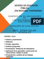 CONFECCIÓN DE INDICADORES 11