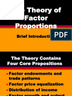 Factor Proportion Theory Ppt