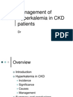 1 Management of Hyperkalemia in Ckd Patients