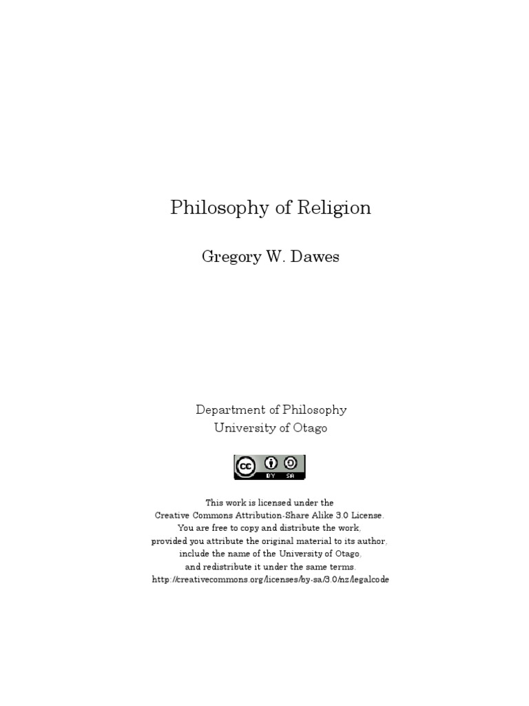 theism and explanation dawes gregory w