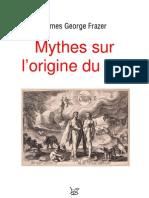 Mythes Sur l'Origine Du Feu