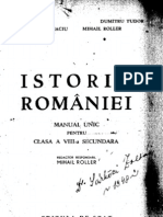 Mihail Roller Istoria Romaniei 1947 Falsificata Mizerabil