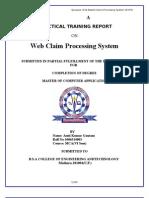 Web Based Claim Processing System