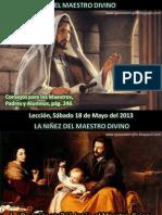 Lección 20 - El maestro divino