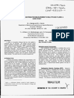 Advanced material distribution measurement in multiphase flows