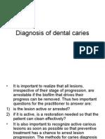 2.Diagnosis of Dental Caries