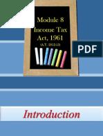 Module 8Tax for Accounts Class