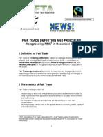 Fair Trade Definition and Principles