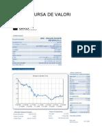Bursa aplicatie practica