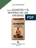 Los gigantes y el misterio de los origenes - Louis Charpentier.pdf