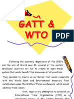 Gatt and Wto