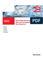 Becoming Governance, Risk and Compliance Ready, Not Reactive