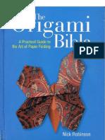 Nick Robinson - The Origami Bible.pdf