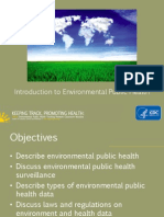 Introduction to Environmental Public Health